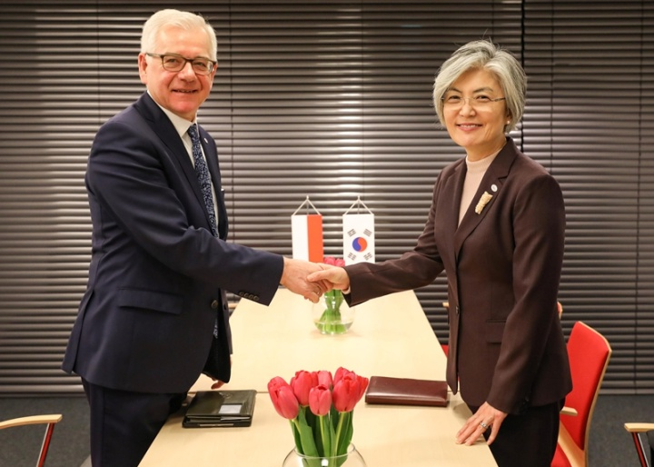 ROK-Poland Foreign Ministerial Meeting Held