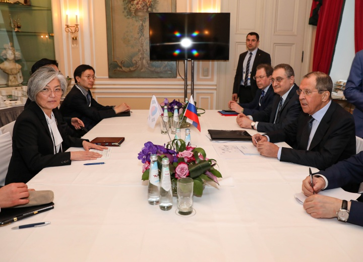 ROK-Russia Foreign Ministerial Meeting Held
