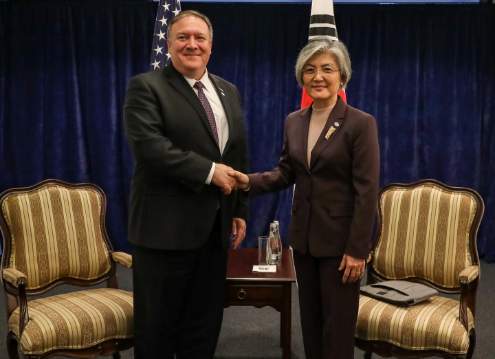 FM Meets with US Secretary of State