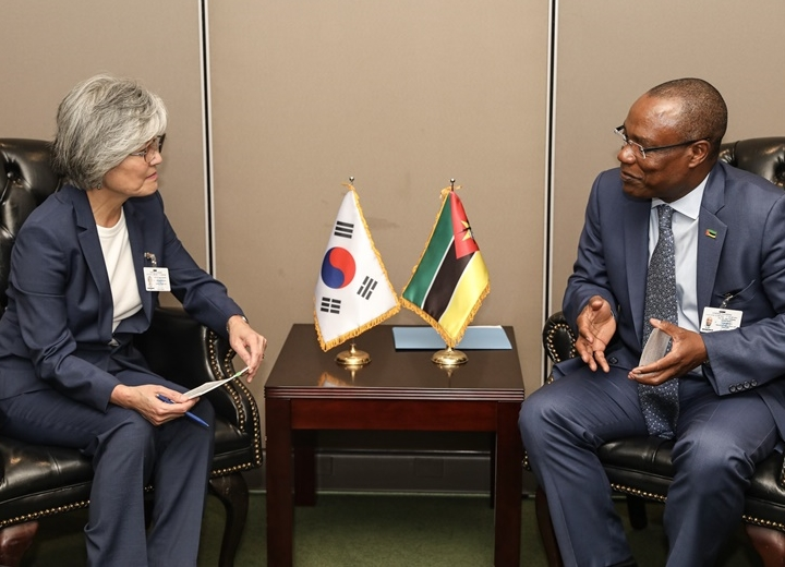 ROK-Mozambique Foreign Ministers' Meeting on Occasion of UN General Assembly