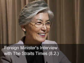 Foreign Minister's Interview with The Straits Times (8.2)
