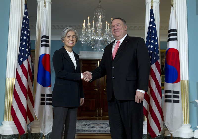 Meeting between ROK Foreign Minister and US Secretary of State