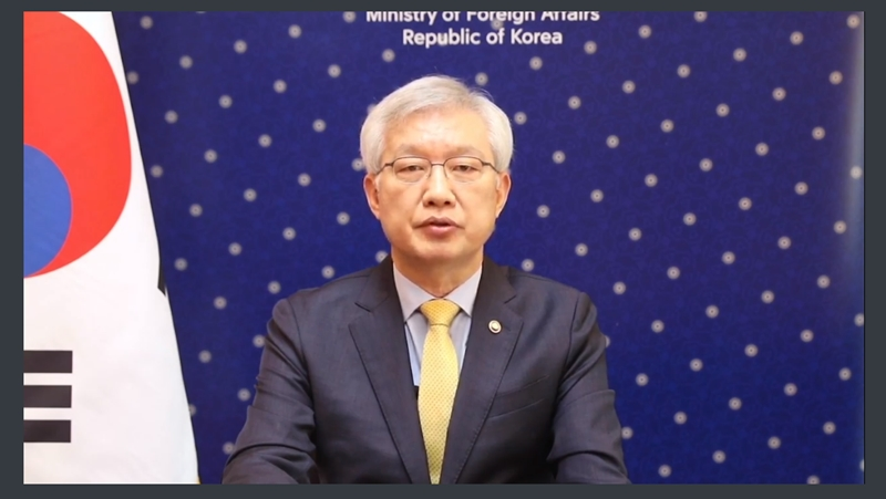 Vice Minister of Foreign Affairs Lee Attends Conference on Sustaining Support for Rohingya Refugee Response (Oct. 22)