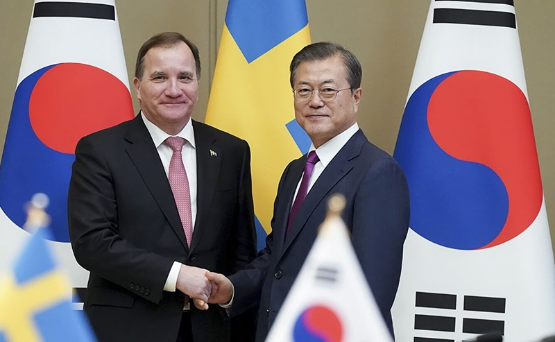 Opening Remarks by President Moon Jae-in at Republic of Korea-Kingdom of Sweden Summit