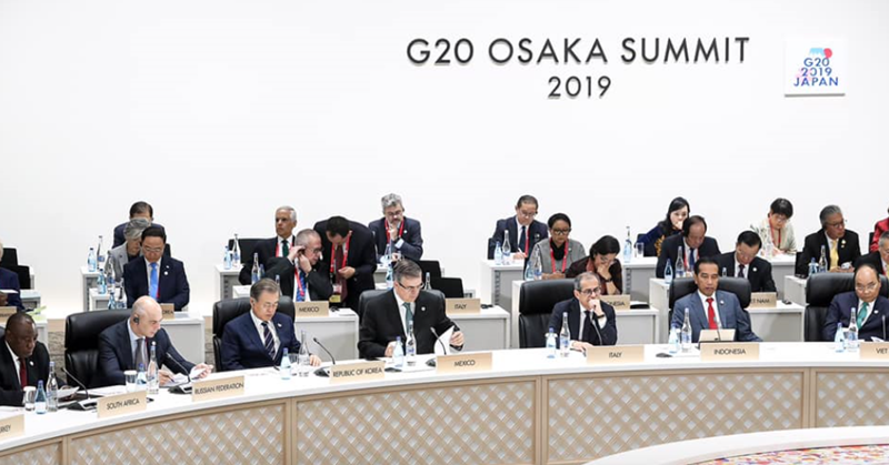 Remarks by President Moon Jae-in as Lead Speaker at Third Session of 14th G20 Summit in Osaka, Japan