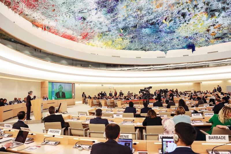FM Delivers Keynote Speech at High-Level Segment of UNHRC