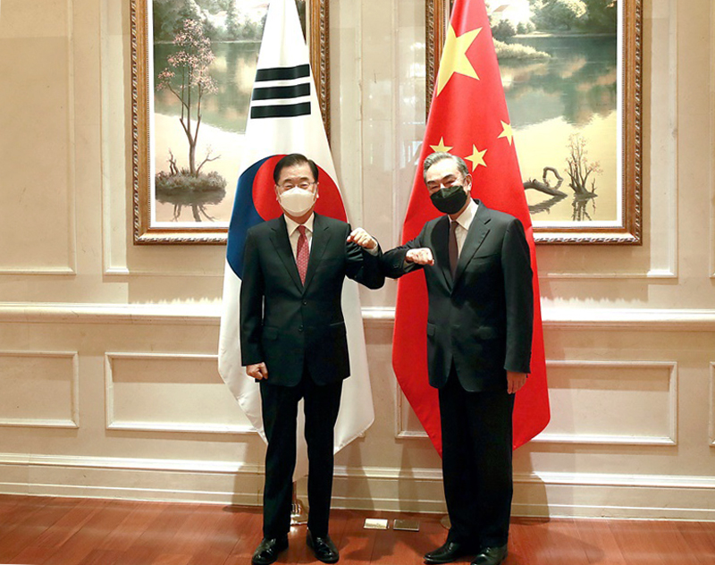 Outcome of Korea-China Foreign Ministers' Meeting
