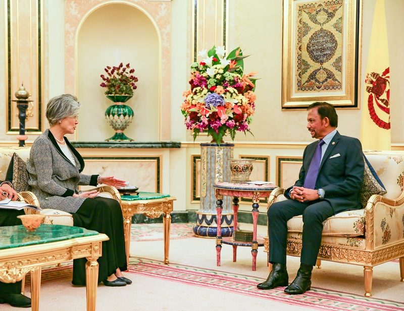 Foreign Minister's Visit to Brunei