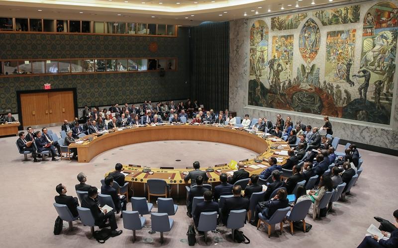 강경화 장관, 북한 비핵화 관련 안보리 장관급 회의 참석