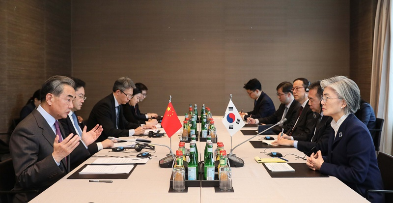 ROK-China Foreign Ministers' Meeting Held on Feb. 15 on Occasion of Munich Security Conference