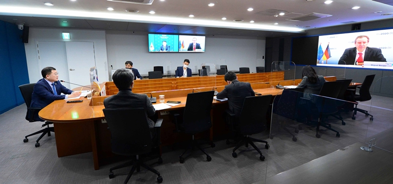 Vice Minister of Foreign Affairs Choi Holds Video Conference with State Secretary of Germany's Federal Foreign Office