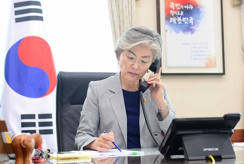 Minister of Foreign Affairs Holds Telephone Conversation with UN Deputy Secretary-General