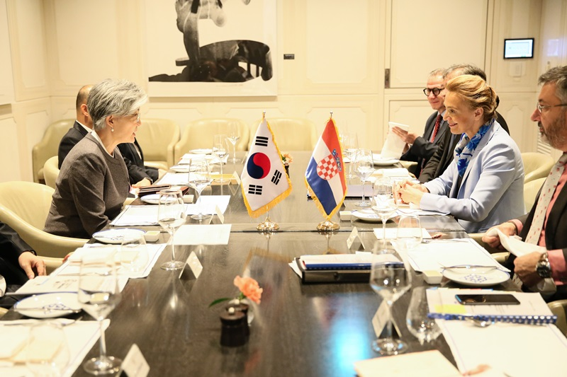 Outcome of ROK-Croatia Foreign Ministerial Meeting