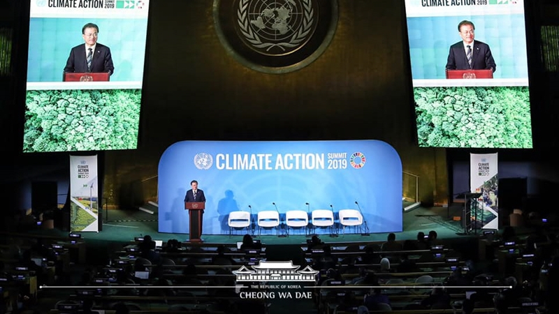 Address by President Moon Jae-in at United Nations Climate Action Summit