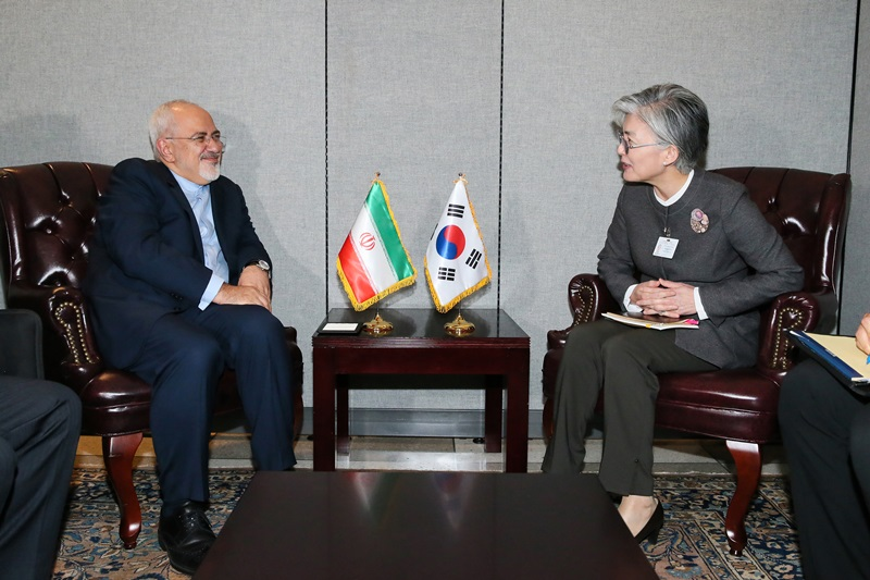 Outcome of ROK-Iran Foreign Ministers' Meeting Held on Occasion of 73rd Session of UN General Assembly