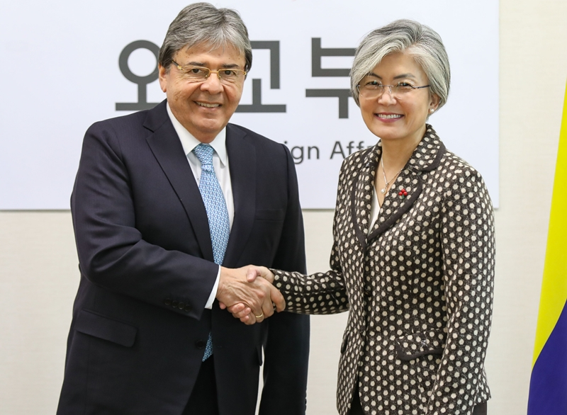 ROK-Colombia Foreign Ministerial Meeting