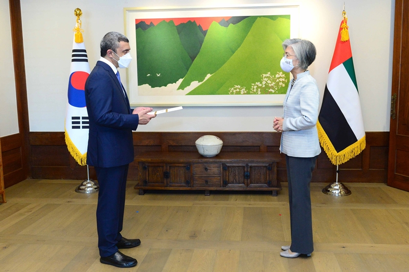 ROK-UAE Foreign Ministers' Meeting (July 10)