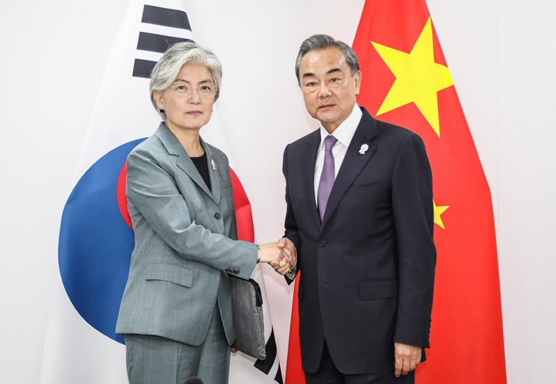 Outcome of ROK-China Foreign Ministerial Meeting Held on Occasion of 2019 ASEAN-related Foreign Ministers' Meetings
