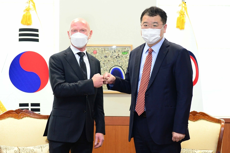Vice Minister of Foreign Affairs Choi Meets with Ambassador of Norway to ROK Frode Solberg